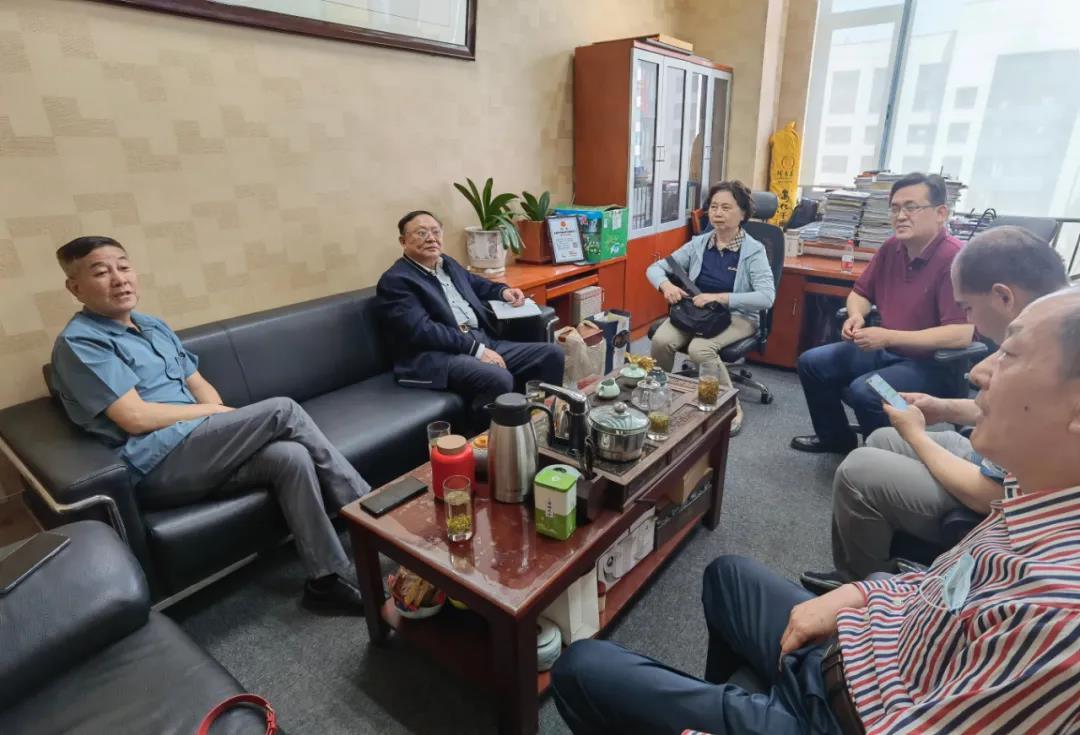 集聚科技金融产业要素、协同打造高科技产业生态 ——接待北京无锡企业商会考察交流
